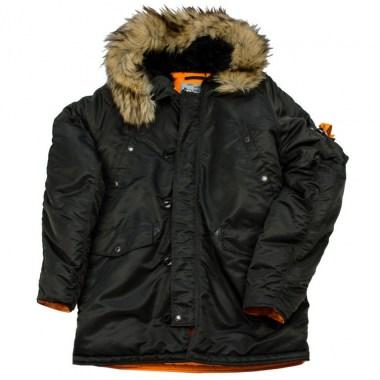 Nord Denali - HUSKY - Black/Orange