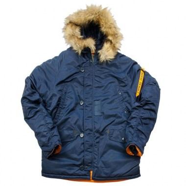 Nord Denali HUSKY SHORT - Rep.Blue/Orange