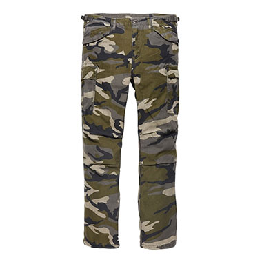 Vintage Industries - M65 heavy satin pant - Streetcamo