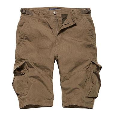 Vintage Industries - Terrance shorts - Dark Khaki