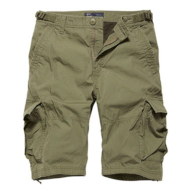 Vintage Industries - Terrance shorts - Olive Drab