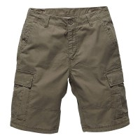 Vintage Industries - Batten shorts - Dark Khaki