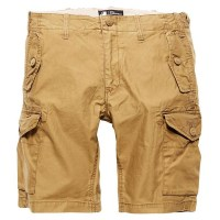 Vintage Industries - Marchfield premium short - Dark Khaki