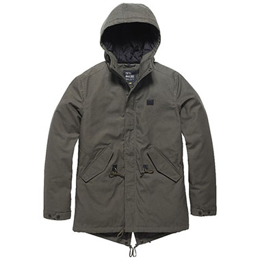 Vintage Industries - Wallbrook parka - Dark Olive