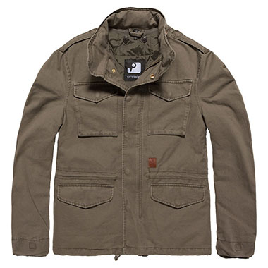 Vintage Industries - Dave M65 jacket - Oliv