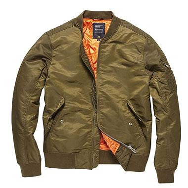 Vintage Industries - Welder jacket - Olive Drab