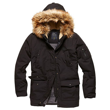 Vintage Industries - Hailey ladies parka - Black