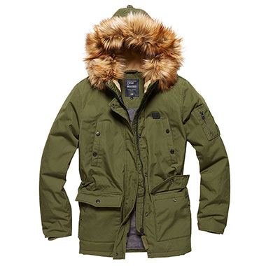 Vintage Industries - Hailey ladies parka - Olive
