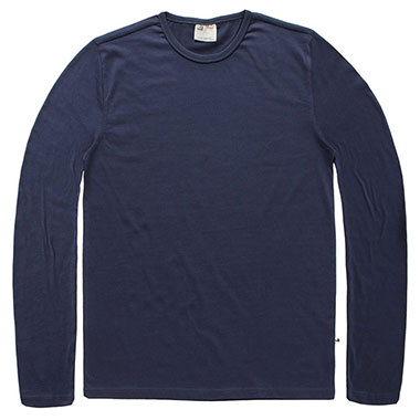 Vintage Industries - Jean long sleeve shirt - Midnight
