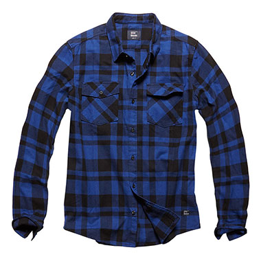 Vintage Industries - Austin shirt - Blue Check