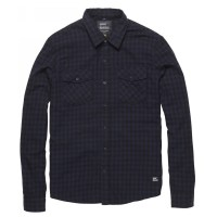 Vintage Industries - Harley shirt - Blue Check