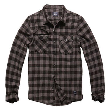 Vintage Industries - Harley shirt - Grey Check