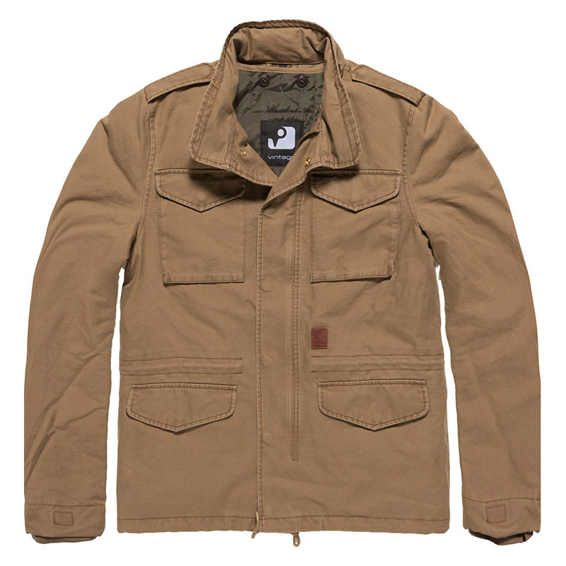 Vintage Industries - Dave M65 jacket - Khaki