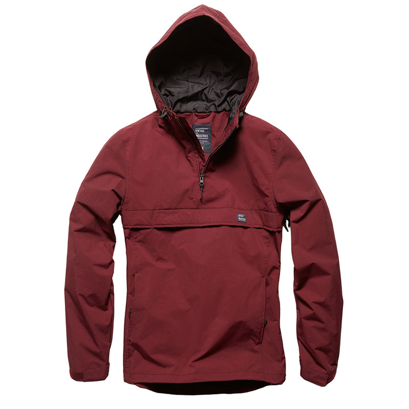 Vintage Industries - Shooter anorak - Burgundy