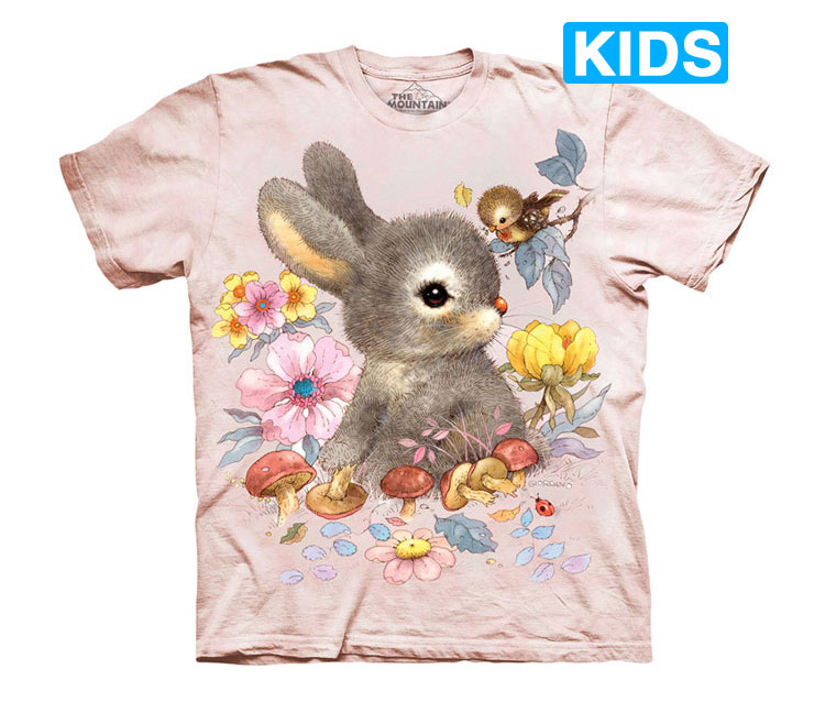 The Mountain - Baby Bunny Kids T-Shirt