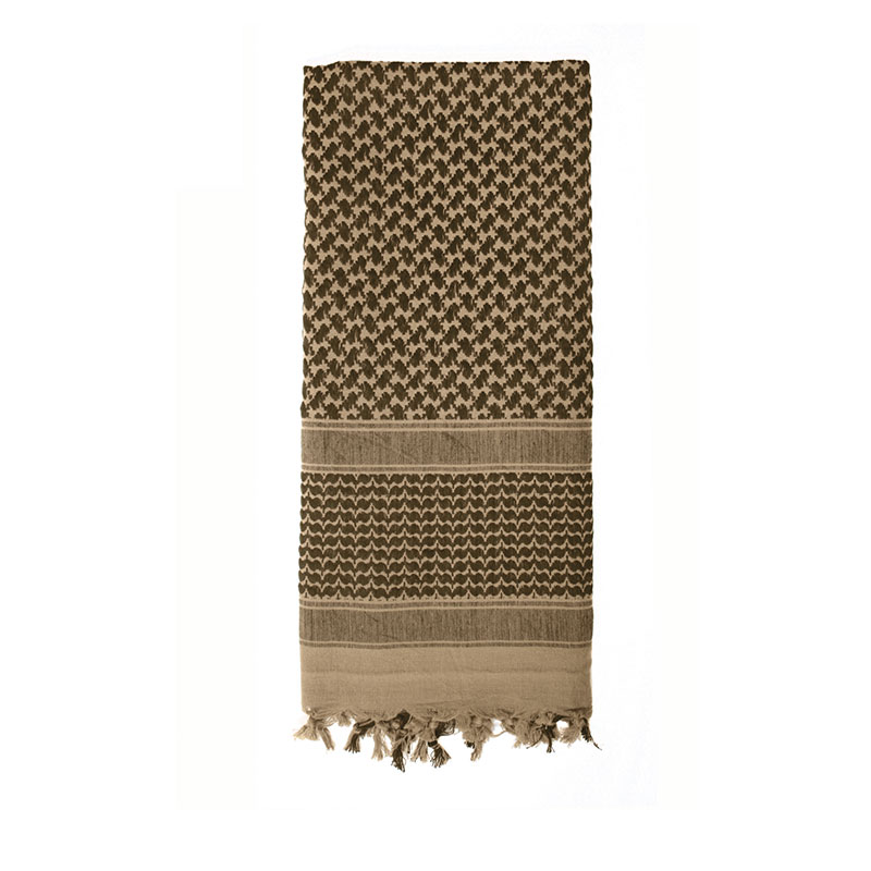 Rothco - Lightweight Shemagh Tactical Desert Scarves - Tan