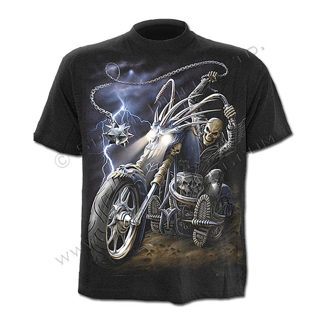 Spiral Direct - RIDE TO HELL - T-Shirt Black