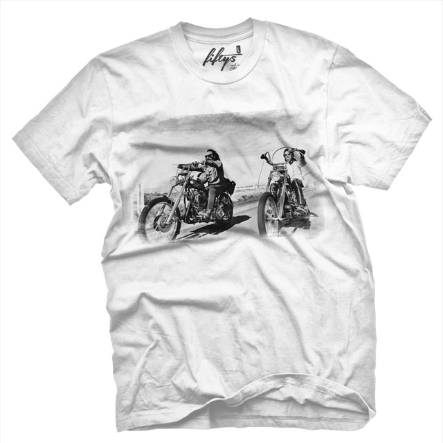 Fifty5 Clothing - Easy Rider Men's T Shirt - White