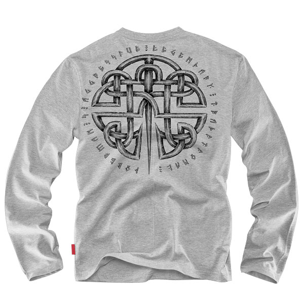 Dobermans - Longsleeve Celtic II - Grey