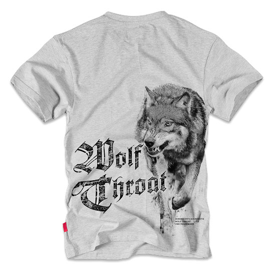 Dobermans - Wolf Throat T-shirt - Grey