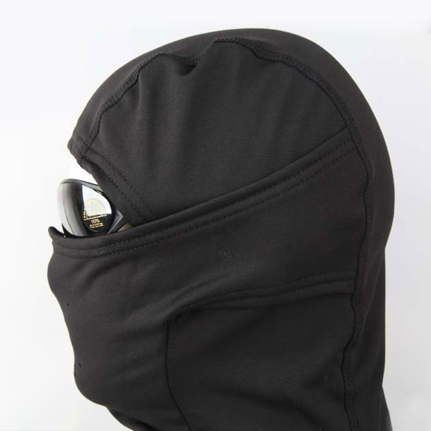 Emerson - Fleece Warmer Hood - Black