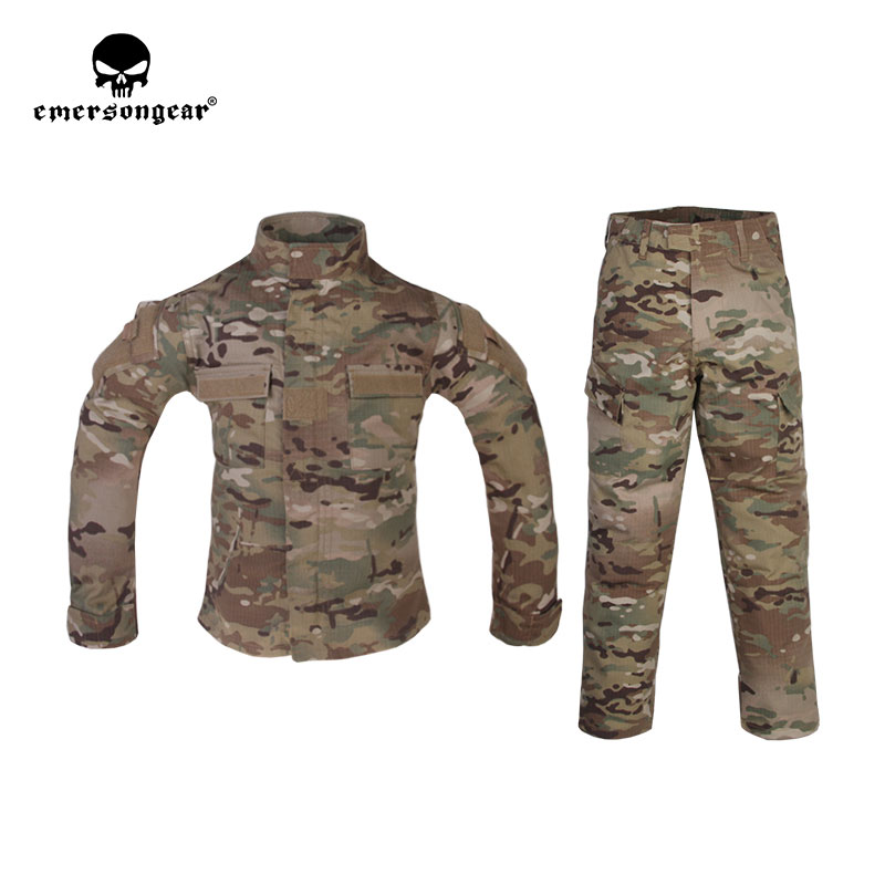 Emerson - Combat Uniform For: 6Y-14Y Children - Multicam