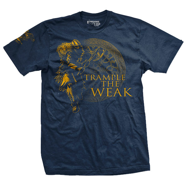 Ranger Up - Trample the Weak Athletic-Fit T-Shirt