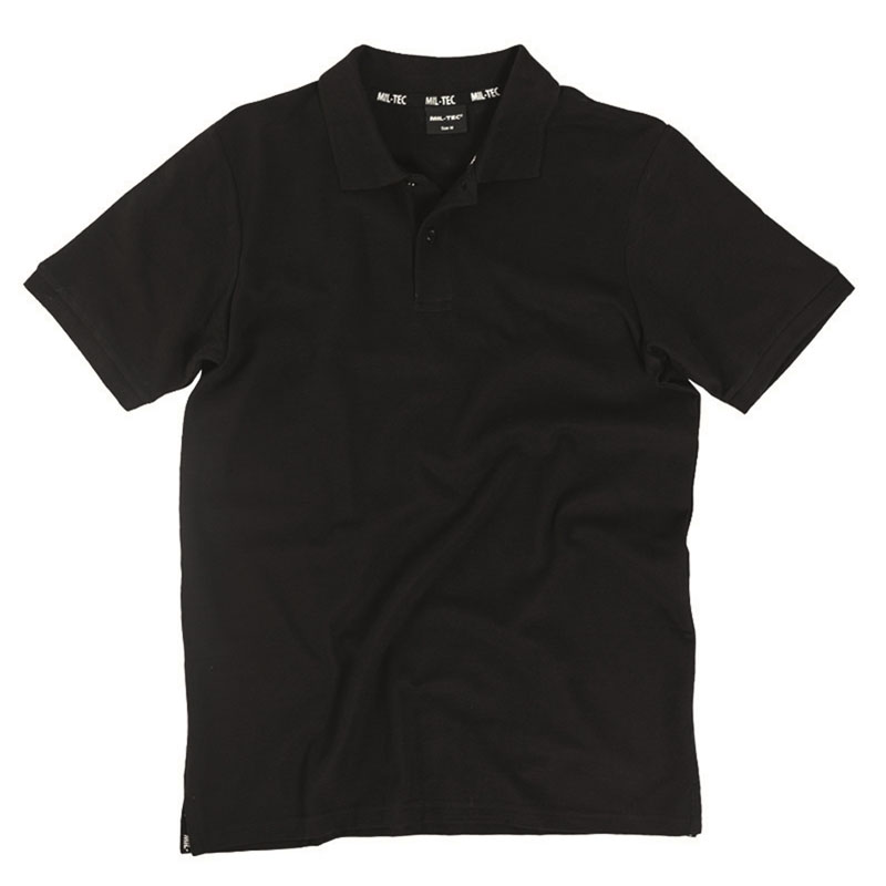 Sturm - Black Polo Shirt Pikee 250gr.co.