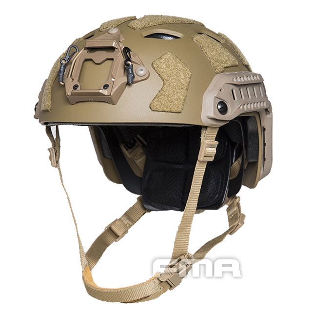 FMA - FAST SF Tactical Helmet - Dark Earth