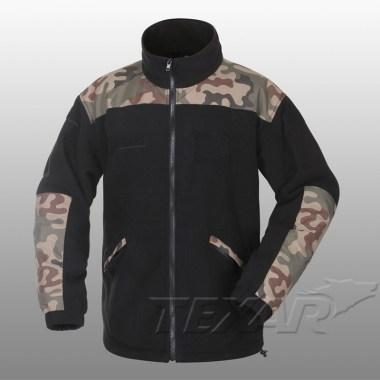 TEXAR - Fleece Jacket GROM - Black