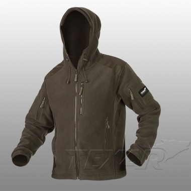 TEXAR - Fleece Jacket HUSKY - Olive