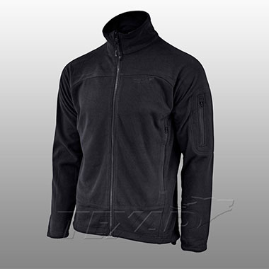 TEXAR - Fleece jacket CONGER - Black