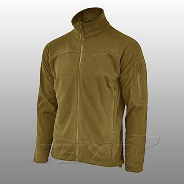 TEXAR - Fleece jacket CONGER - Coyote