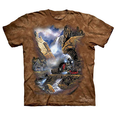 The Mountain - Rails to Pandora T-Shirt
