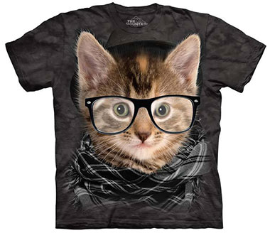 The Mountain - Hipster Kitten