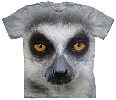 The Mountain - Big Face Ring Tailed Lemur