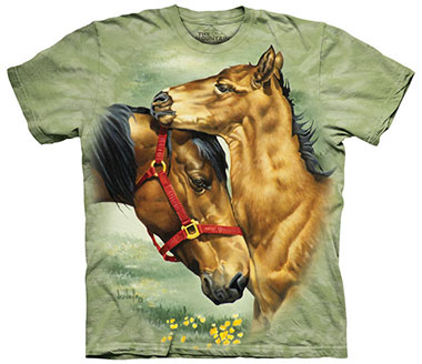 The Mountain - Meadow Horses T-Shirt
