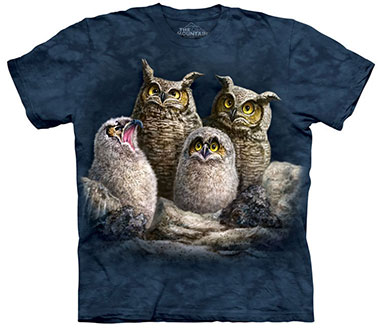 The Mountain - Owl Family T-Shirt