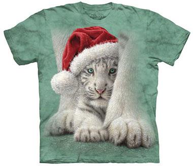 The Mountain - Shletered Christmas T-Shirt