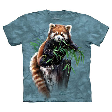 The Mountain - Bamboo Red Panda T-Shirt