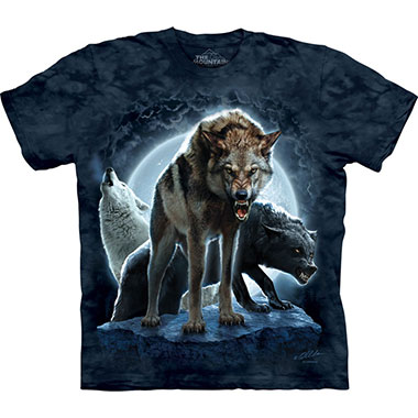 The Mountain - Bad Moon Wolves T-Shirt