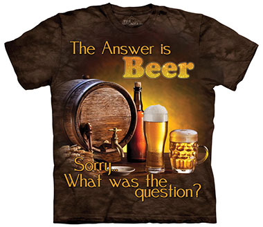 The Mountain - Beer Outdoor T-Shirt