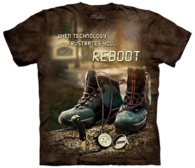 The Mountain - Reboot Outdoor T-Shirt