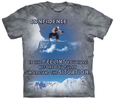 The Mountain - Snowboard Outdoor T-Shirt