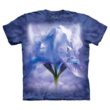 The Mountain - Iris in the Moonlite T-Shirt