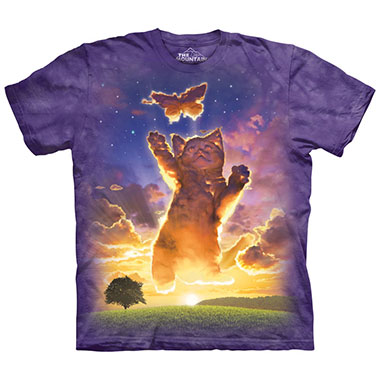 The Mountain - Kitten Cloud T-Shirt