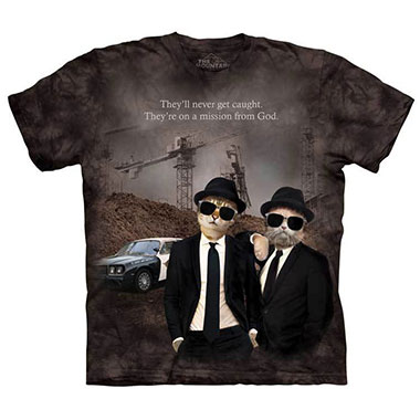 The Mountain - Cat Brothers T-Shirt