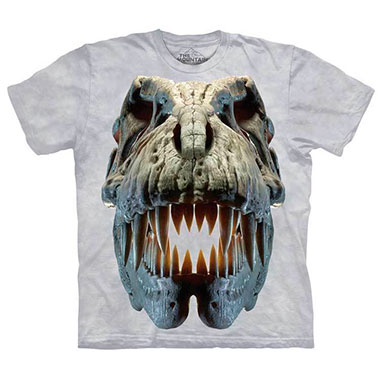 The Mountain - Silver Rex Skull T-Shirt