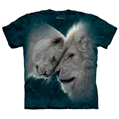 The Mountain - White Lions Love T-Shirt