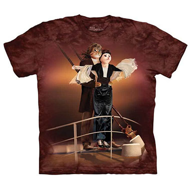 The Mountain - Titanic Cats T-Shirt